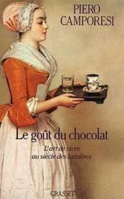 Le gout du chocolat - Couverture - Format classique