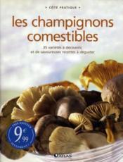 Les champignons comestibles - Couverture - Format classique