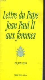 Lettre Aux Femmes - Couverture - Format classique