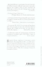 So Watt ? L'Energie : Une Affaire De Citoyens - 4ème de couverture - Format classique
