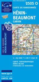 Hénin-Beaumont ; Carvin - Couverture - Format classique