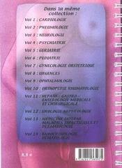 Gynecologie Obstetrique - 4ème de couverture - Format classique