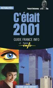 C etait 2001 - Couverture - Format classique