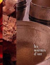 Maitres d art - Couverture - Format classique