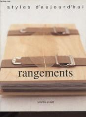 Rangements - Couverture - Format classique