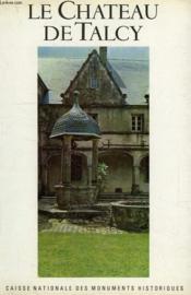 Le Chateau De Talcy - Couverture - Format classique