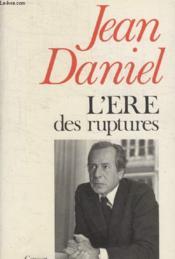 Lere Des Ruptures. - Couverture - Format classique