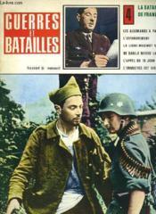 Guerres Et Batailles - 4 - La Bataille De France - Couverture - Format classique