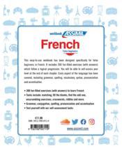 French ; false beginners - 4ème de couverture - Format classique