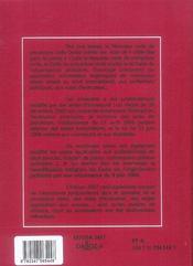 Nouveau code de procédure civile (édition 2007) - 4ème de couverture - Format classique