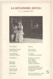 Metaphore (Revue) N 1 (La) - Couverture - Format classique