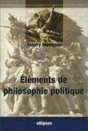 Éléments de philosophie politique - Couverture - Format classique