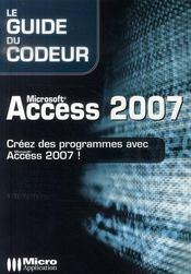 Microsoft Access 2007 - Intérieur - Format classique