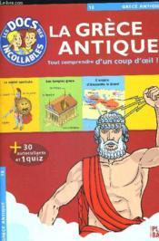 La Grèce antique - Couverture - Format classique