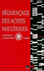 Sequencage Des Acides Nucleiques (Collection Genie Genetique) - Couverture - Format classique