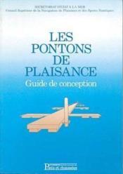 Pontons De Plaisance Guide De Conception - Couverture - Format classique