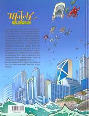 Malek sliman t.2 ; a un de ces quatre - 4ème de couverture - Format classique