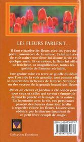 L'Amour Des Fleurs Et Des Jardins - 4ème de couverture - Format classique
