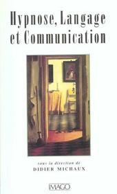 Hypnose, langage et communication - Intérieur - Format classique