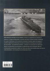 Les sous-marins nucléaires français - 4ème de couverture - Format classique