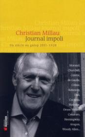 Journal impoli ; un siècle de galop 2011-1928 - Couverture - Format classique