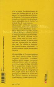 Journal impoli ; un siècle de galop 2011-1928 - 4ème de couverture - Format classique
