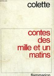 Contes Des Mille Et Un Matins. - Couverture - Format classique