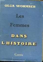 Les Femmes Dans L'Histoire - Couverture - Format classique