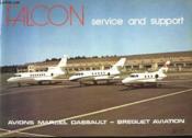 Avion Marcel Dassault Falcon - Couverture - Format classique