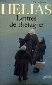 Lettres De Bretagne - Couverture - Format classique
