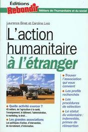 Travailler Dans L'Action Humanitaire - Intérieur - Format classique