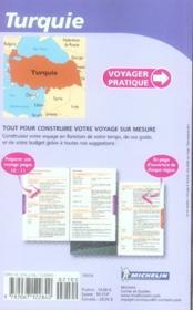Voyager Pratique ; Turquie - 4ème de couverture - Format classique