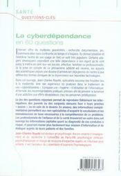 La cyberdépendance en 60 questions - 4ème de couverture - Format classique