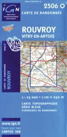Rouvroy ; Vitry-en-Artois - Couverture - Format classique