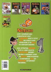 Nelson T.6 ; crapule king size - 4ème de couverture - Format classique