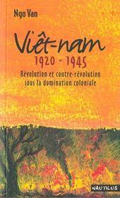 Viet-Nam 1920-1945 - Intérieur - Format classique