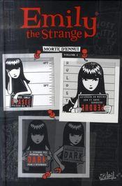 Emily the strange t.1 ; morte d'ennui - Intérieur - Format classique