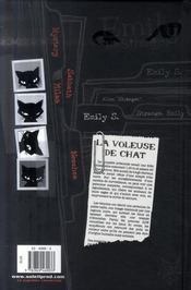 Emily the strange t.1 ; morte d'ennui - 4ème de couverture - Format classique