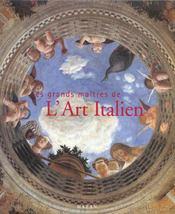 Grands Maitres De L'Art Italien - Intérieur - Format classique