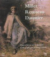 Millet, rousseau, daumier chefs-d'oeuvre de la donation d'arts graphiques d'henry vasnier - Intérieur - Format classique