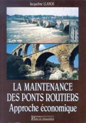 Maintenance Ponts Routiers Approche Eco - Couverture - Format classique