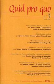 Qui pro quo t.3 - Intérieur - Format classique