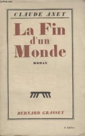 La Fin Dun Monde. - Couverture - Format classique