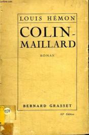 Colin Maillard. - Couverture - Format classique