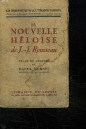 La Nouvelle Heloise. - Couverture - Format classique