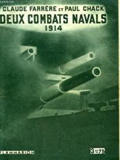 Deux Combats Navals. 1914. Collection : Hier Et Aujourd'Hui. - Couverture - Format classique