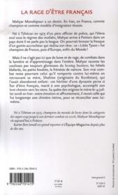 La rage d'être français - Couverture - Format classique