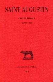 Confessions t.1 - Couverture - Format classique