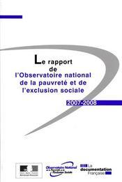 Le rapport de l'observatoire national de la pauvreté et de l'exclusion sociale - Intérieur - Format classique