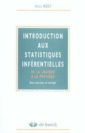 Introduction aux statistiques inférentielles - Intérieur - Format classique